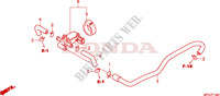AIR INJECTION CONTROL VALVE Frame 600 honda-motorcycle HORNET 2009 F__1801