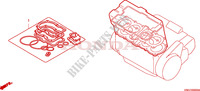 GASKET KIT A Engine 1000 honda-motorcycle CB 2009 EOP0100