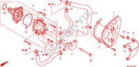 WATER PUMP Honda motorcycle microfiche diagram CBR600FAB 2011 CBR 600 F ABS