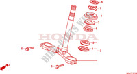 STEERING STEM Honda motorcycle microfiche diagram CBR600FAB 2011 CBR 600 F ABS