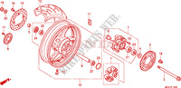 REAR WHEEL Honda motorcycle microfiche diagram CBR600FAB 2011 CBR 600 F ABS