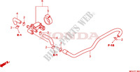 AIR INJECTION CONTROL VAL VE Honda motorcycle microfiche diagram CBR600FAB 2011 CBR 600 F ABS