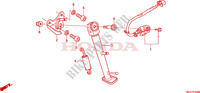 STAND Honda motorcycle microfiche diagram CBR600FAB 2011 CBR 600 F ABS
