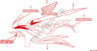 MARK(2) Honda motorcycle microfiche diagram CBR600FAB 2011 CBR 600 F ABS