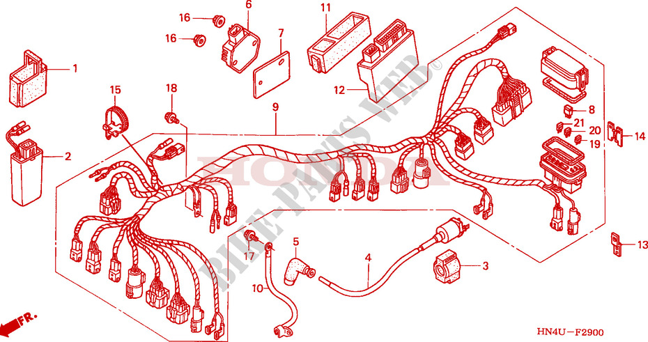 rancher 350 4x4 atv wiring diagram wire harness for honda fourtrax rancher 350 4x4 2005 honda  wire harness for honda fourtrax rancher