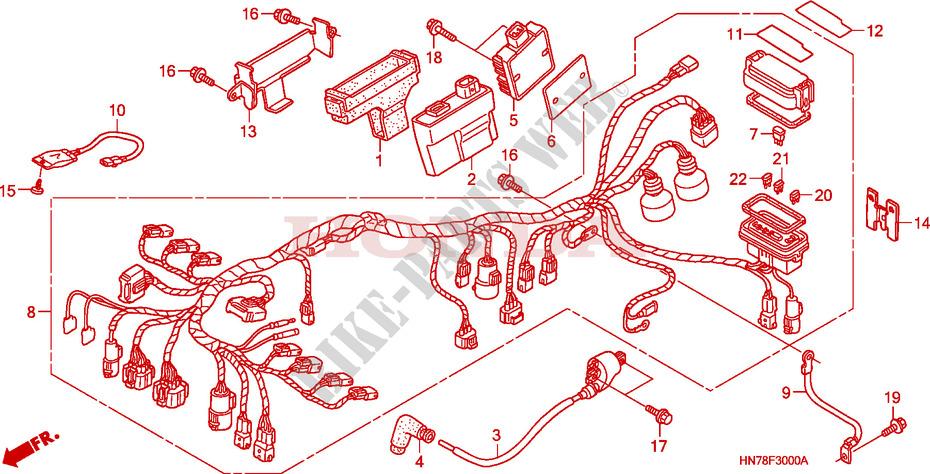 Honda Atv Wiring Harnes