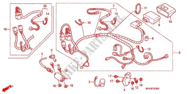 crf 450 wiring schematics wiring diagram electricity basics 101 u2022 rh casamagdalena us honda crf450x wiring diagram