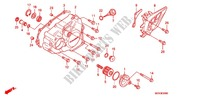L. CRANKCASE COVER Honda motorcycle microfiche diagram CRF450RA 2010 CRF 450 R