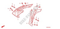 RADIATOR GUARDS for Honda CRF 450 R 2011