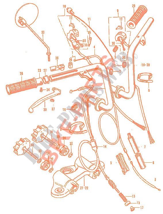 Honda 45465-270-000 CLIP  FR.