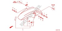 FRONT FORK/FRONT FENDER Honda motorcycle microfiche diagram CBF1000FAC 2013 CBF 1000 ABS