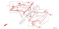AIR CLEANER/SIDE COVER Frame 1000 honda-motorcycle CBF 2012 F_24