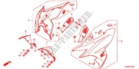 FRONT COWL Frame 1000 honda-motorcycle CBF 2012 F_45