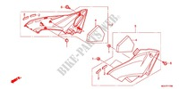 AIR CLEANER/SIDE COVER Frame 600 honda-motorcycle CBR 2012 F_17