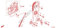 CAM CHAIN/TENSIONER Honda motorcycle microfiche diagram CGX125SHC 2012 CGX 125 Casted Wheels