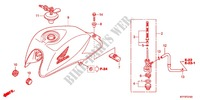 --- RESERVOIR A CARBURANT (1) Honda motorcycle microfiche diagram CGX125SHC 2012 CGX 125 Casted Wheels