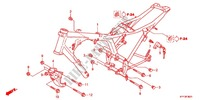 --- CARROSSERIE DE CHASSIS (2) Honda motorcycle microfiche diagram CGX125SHC 2012 CGX 125