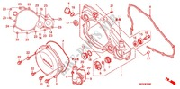 R. CRANKCASE COVER/WATERP UMP Honda motorcycle microfiche diagram CRF450RC 2012 CRF 450 R