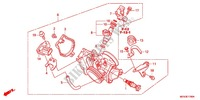 THROTTLE BODY (NPS508/9) Honda motorcycle microfiche diagram CRF450RC 2012 CRF 450 R