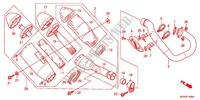 EXHAUST MUFFLER (2) Honda motorcycle microfiche diagram CRF450RC 2012 CRF 450 R