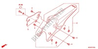 REAR FENDER Honda motorcycle microfiche diagram CRF450RC 2012 CRF 450 R