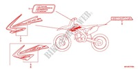 MARK (Z50G) Honda motorcycle microfiche diagram CRF450RC 2012 CRF 450 R