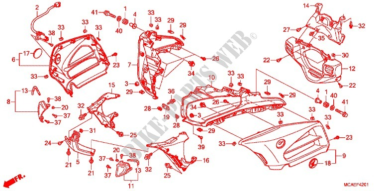 basic d188 ignition wiring diagram manual e books  basic d188 ignition wiring diagram all wiring diagramhonda motorcycle microfiche diagram gl1800c 2012 gold wing 1800