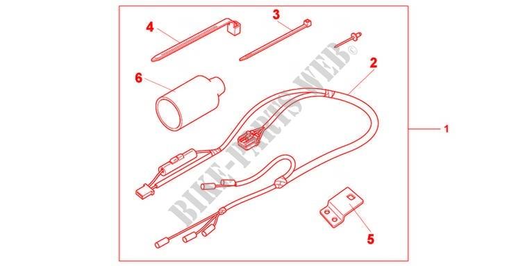 Heitune 2pcs 7//8 LED Prot/ège-Mains Moto Universelle Clignotants DRL Indicateur De Protection