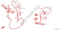 HANDLE LEVER/SWITCH/CABLE /MIRROR Frame 125 honda-motorcycle SH 2012 F_03