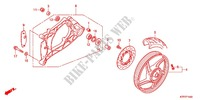 REAR WHEEL/SWINGARM Frame 125 honda-motorcycle SH 2012 F_14