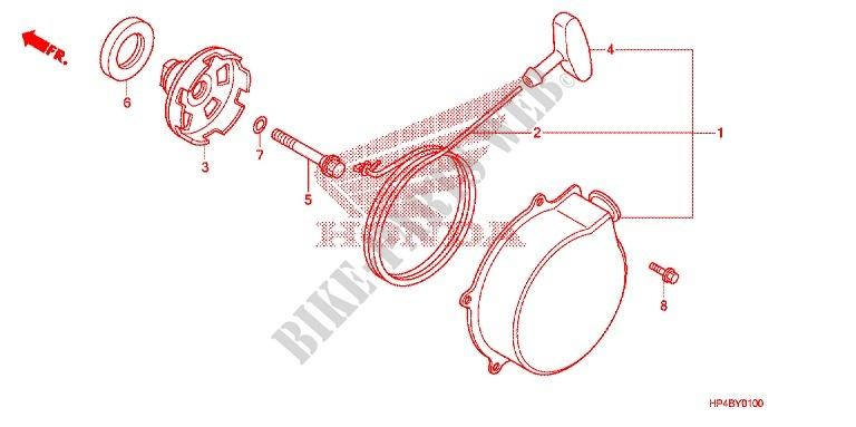 Recoil Starter Frame Trx420tmc 2012 Fourtrax 420 ATV Honda. Honda ATV 420 Fourtrax 2012 Trx420tmc Frame Recoil Starter. Honda. 2012 Honda Rancher Parts Diagram At Scoala.co