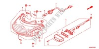 TAILLIGHT (2) Honda motorcycle microfiche diagram WW125EX2C 2012 PCX 125 LIMITED EDITION