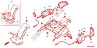 --- GARDE-BOUE ARRIERE/CLIGNOTANT ARRIERE Honda motorcycle microfiche diagram WW125EX2C 2012 PCX 125 LIMITED EDITION