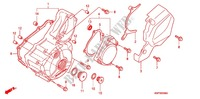 LEFT CRANKCASE COVER/ GENERATOR (2) Honda motorcycle microfiche diagram XRE300AC 2012 XRE 300 ABS