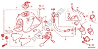 FUEL TANK Honda motorcycle microfiche diagram XRE300AC 2012 XRE 300 ABS