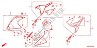 FAN COVER/SHROUD Honda motorcycle microfiche diagram XRE300AC 2012 XRE 300 ABS