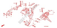 REAR FENDER Honda motorcycle microfiche diagram XRE300AC 2012 XRE 300 ABS