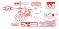 CAUTION LABEL (1) for Honda CB 1100 ABS 2013