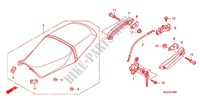 SINGLE SEAT (2) for Honda CB 1100 ABS 2013