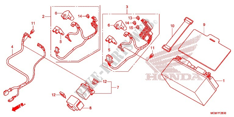 Astonishing Honda Hornet 600 Fuse Box Diagram Data Schema Wiring 101 Capemaxxcnl