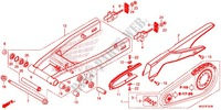 SWINGARM/CHAIN CASE Frame 500 honda-motorcycle CBR 2014 F_32