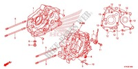CRANKCASE/OIL PUMP Honda motorcycle microfiche diagram CRF110FE 2016 CRF 110