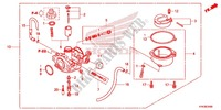 CARBURETOR (2) Honda motorcycle microfiche diagram CRF110FE 2016 CRF 110
