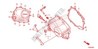 RIGHT CRANKCASE COVER Honda motorcycle microfiche diagram CRF125FBE 2014 CRF 125 BIG WHEEL