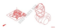 GASKET KIT A Honda motorcycle microfiche diagram CRF125FE 2016 CRF 125