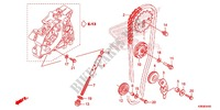 CAM CHAIN/TENSIONER Honda motorcycle microfiche diagram CRF125FE 2016 CRF 125