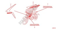 MARK (Z50G) Honda motorcycle microfiche diagram CRF125FE 2016 CRF 125
