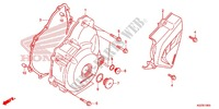 LEFT CRANKCASE COVER   ALTERNATOR (2) for Honda CRF 250 L ROJO 2013