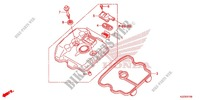 CYLINDER HEAD COVER for Honda CRF 250 L RED 2013