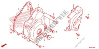 LEFT CRANKCASE COVER   ALTERNATOR (2) for Honda CRF 250 L 2014
